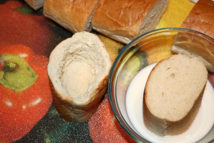 Запеченный багет с начинкой в духовке - оригинальный пудинг из рыбы