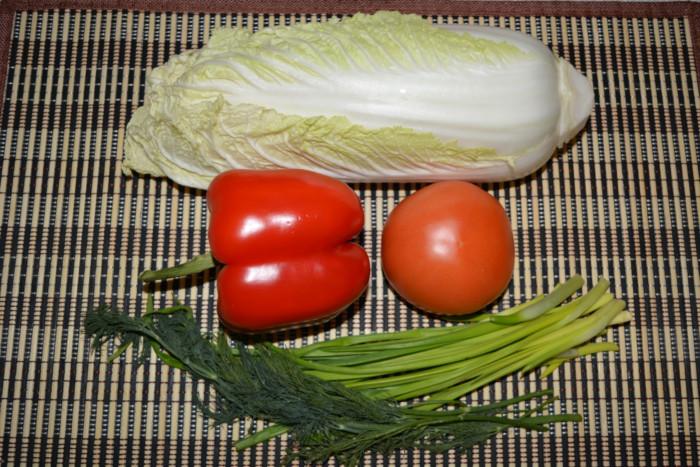 салат из капусты с перцем пошаговый рецепт