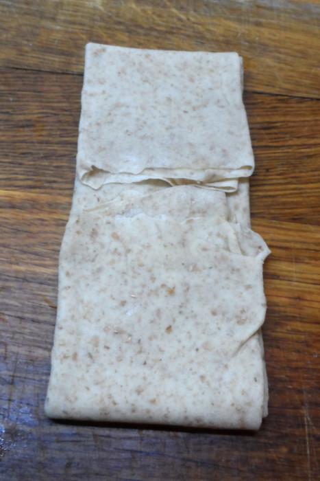 Чапати - индийские бездрожжевые слоеные пресные лепешки