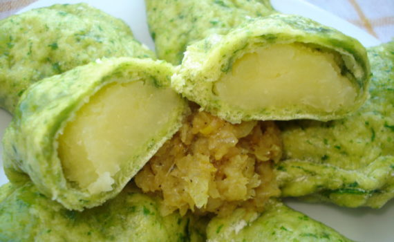 Начинка для вареников с картошкой со сметаной или сливками