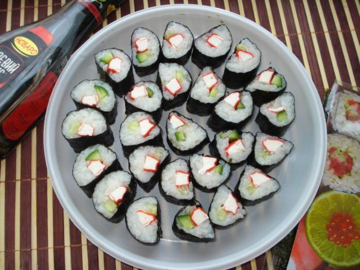 Как сделать рис для суши фото 317