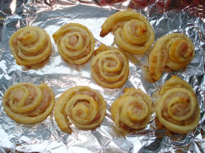 розы из теста в духовке рецепт с фото