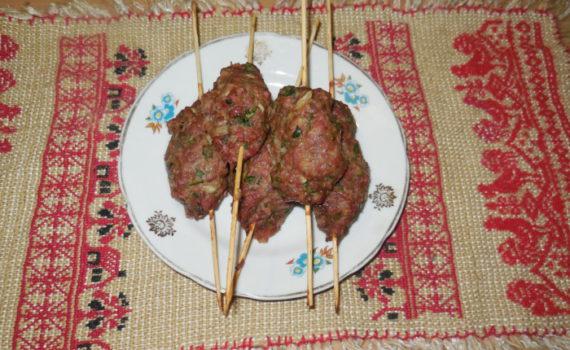 Домашние люля-кебаб из говядины в духовке
