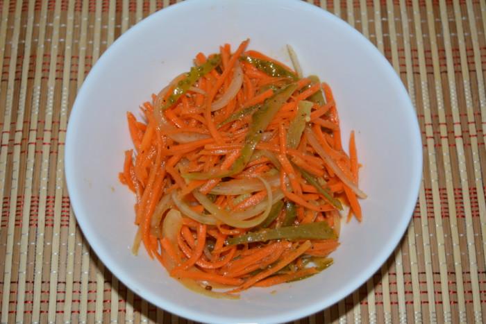 Салат из тунца с корейской морковью рекомендации