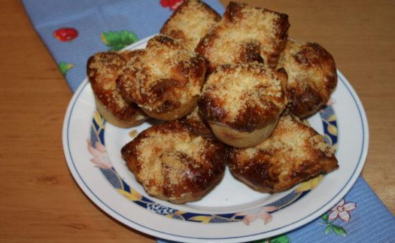 Пуффмаффины - булочки из слоеного дрожжевого теста