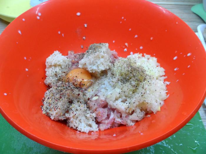 гнезда с шампиньонами рецепт с фото