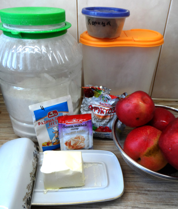 рецепт пирога из яблок рецепт в духовке