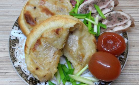Сибирские шаньги с картошкой - как у бабушки