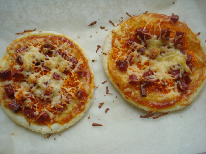 пицца на 15 минут на сковороде рецепт с фото