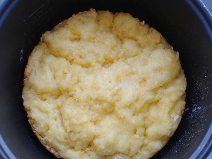 Творожно-лимонный кекс в мультиварке