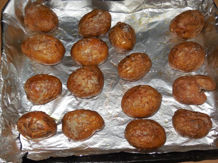 картофель в духовке сочный рецепт с фото