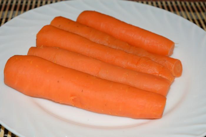Сколько варить морковь для винегрета или оливье - как правильно варить морковь в кастрюле, пошаговый рецепт с фото