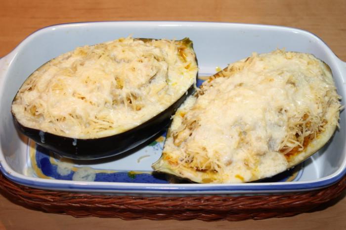 баклажаны фаршированные курицей запеченные в духовке