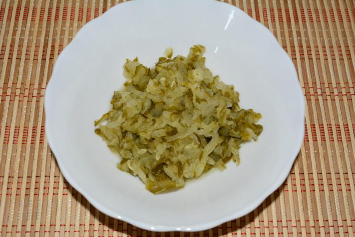 Суп с огурцами и фрикадельками