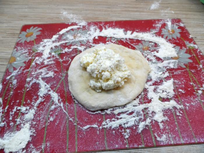 Имеретинские хачапури с сыром