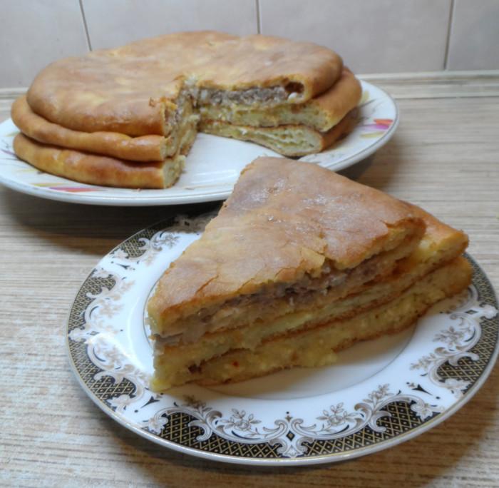 Осетинские пироги с разными начинками