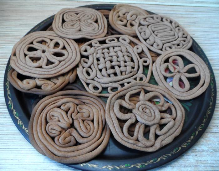 Весеннее печенье Тетерки в духовке