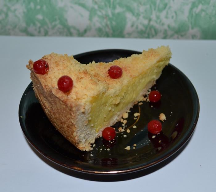 открытый пирог с ягодой рецепт с фото