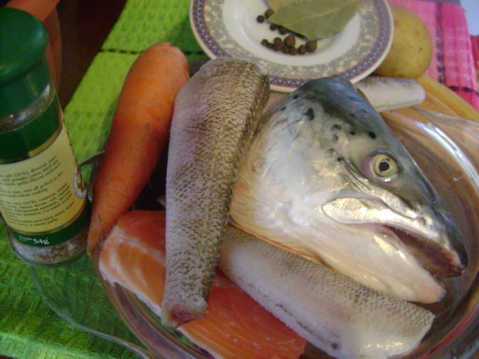 Уха из рыбного ассорти
