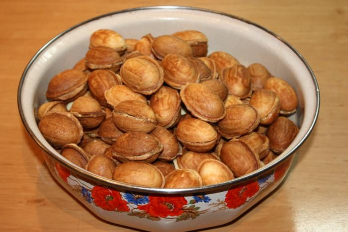 Как сделать орешки в домашних условиях
