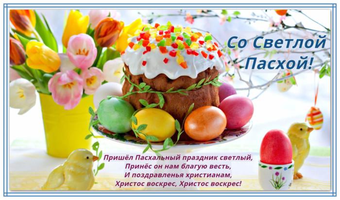 Красивые поздравительные открытки с Пасхой Христовой