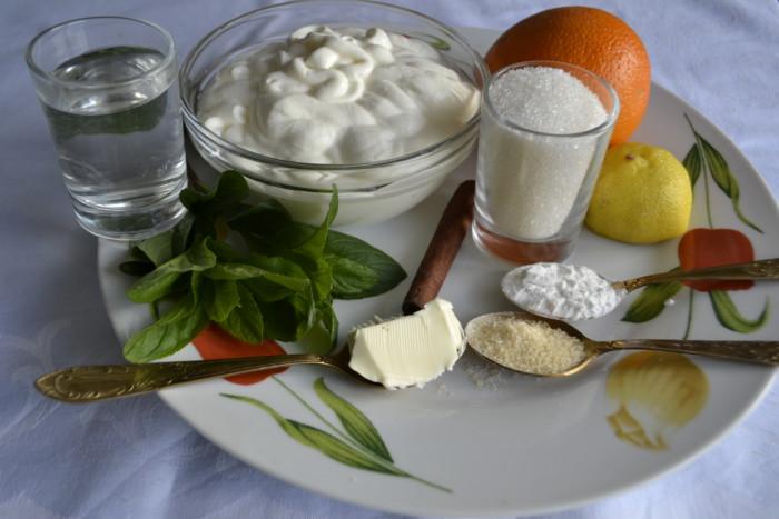 Домашняя панакота со сметаной и желатином