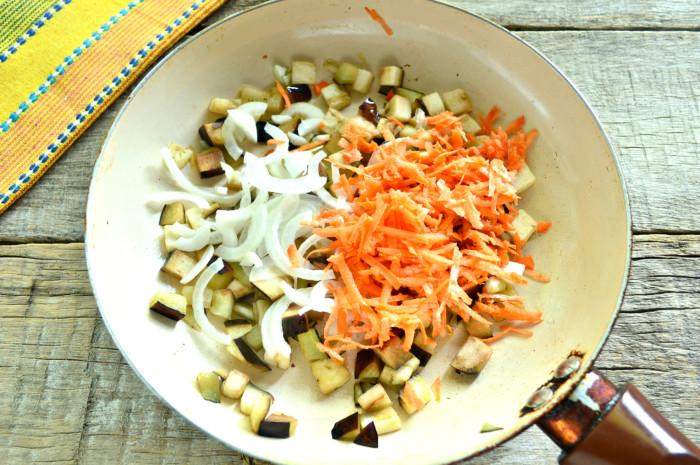 Овощное рагу с баклажанами и мясом