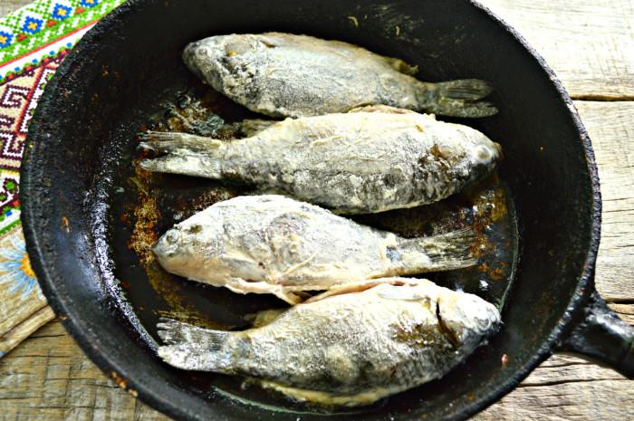 Караси в майонезе духовке рецепт