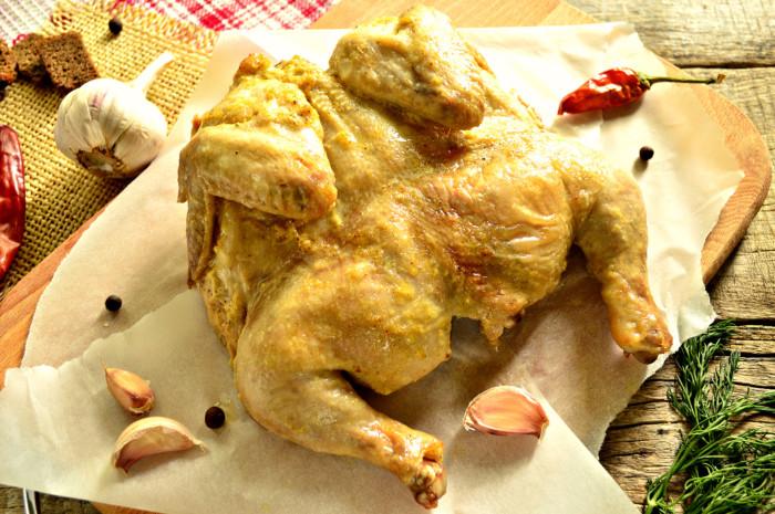 как приготовить цыпленка в духовке пошаговый рецепт