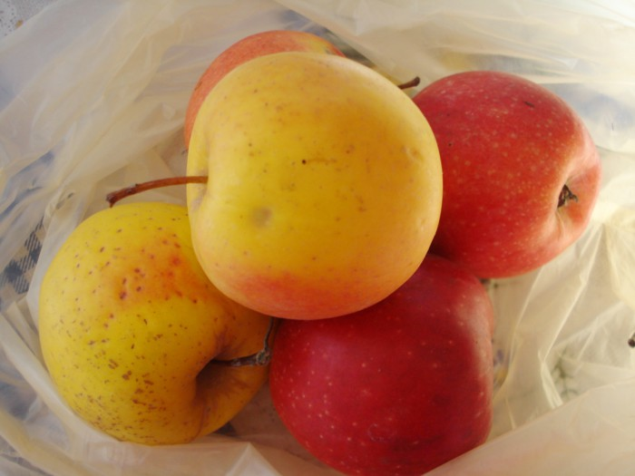 Детское яблочное пюре из свежих яблок