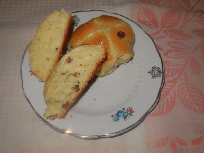 Самые вкусные пасхальные булочки с изюмом