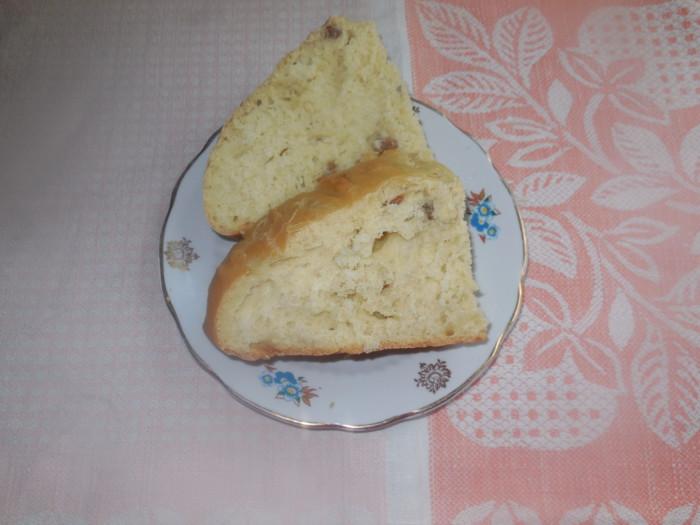 Домашний хлеб со шкварками и смальцем