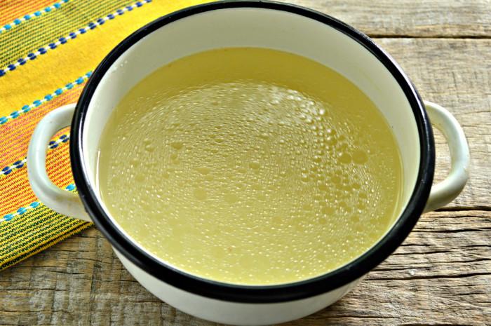 Суп из баранины с галушками - халтама