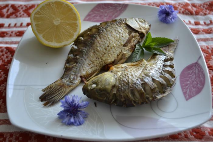 Рыба карась в духовке рецепт пошагово
