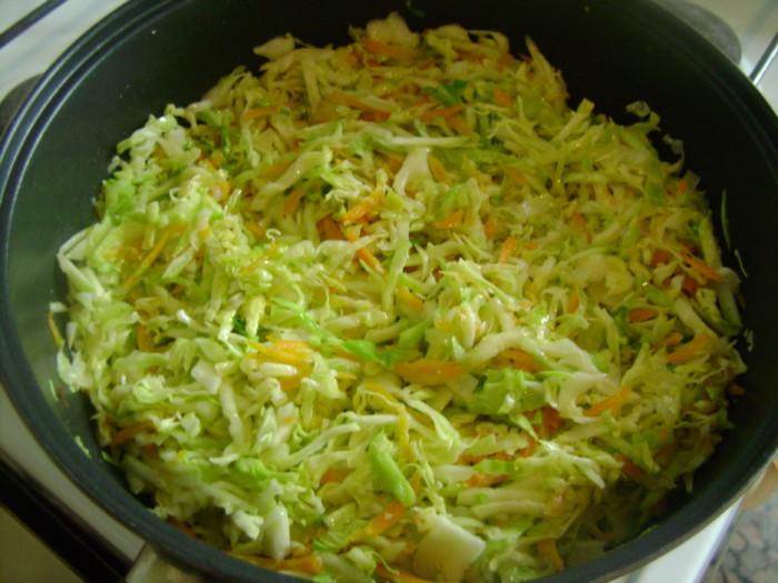 капуста и кабачок что приготовить