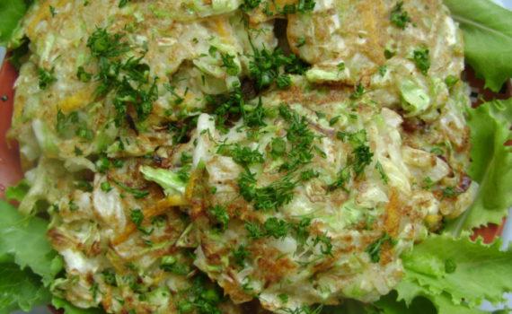 котлеты из картошки и капусты постные рецепт