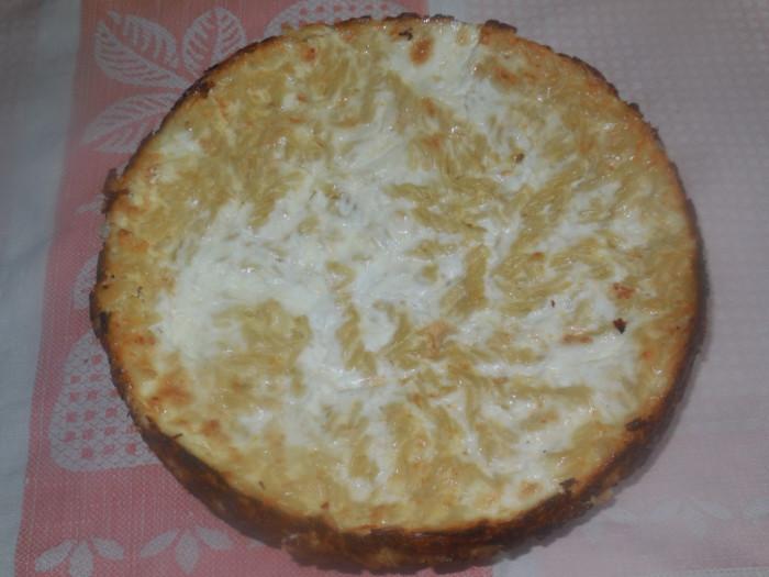 Запеканка из макарон с творогом сладкая