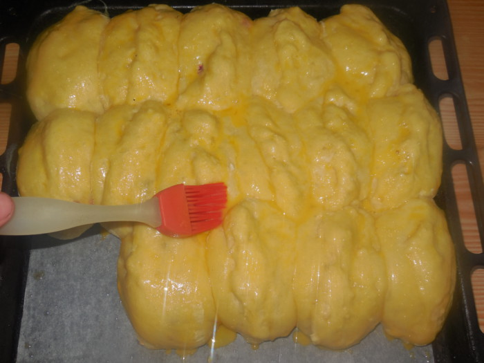 Рецепт пирожков с капустой в духовке из дрожжевого теста