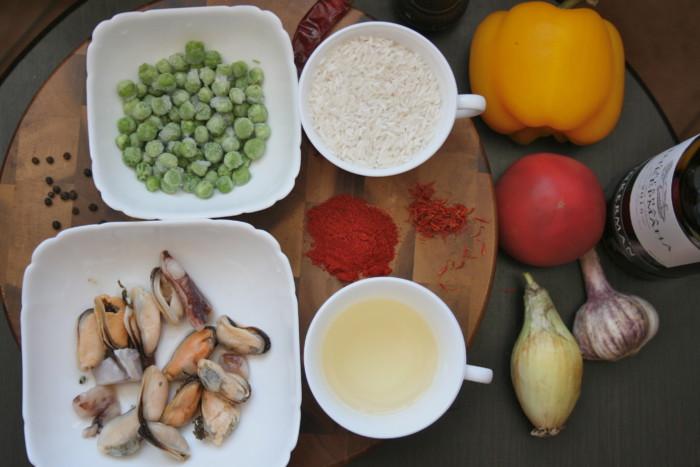 как приготовить паэлью в домашних условиях с курицей рецепт с фото