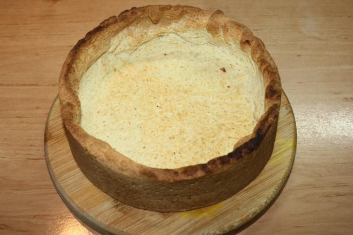 Пирог с вишней и сок желе