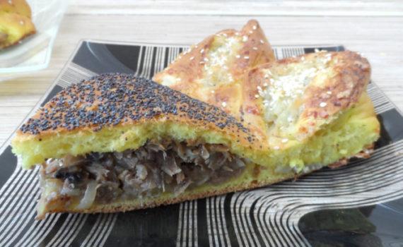 пироги с грибами рецепты в духовке из дрожжевого