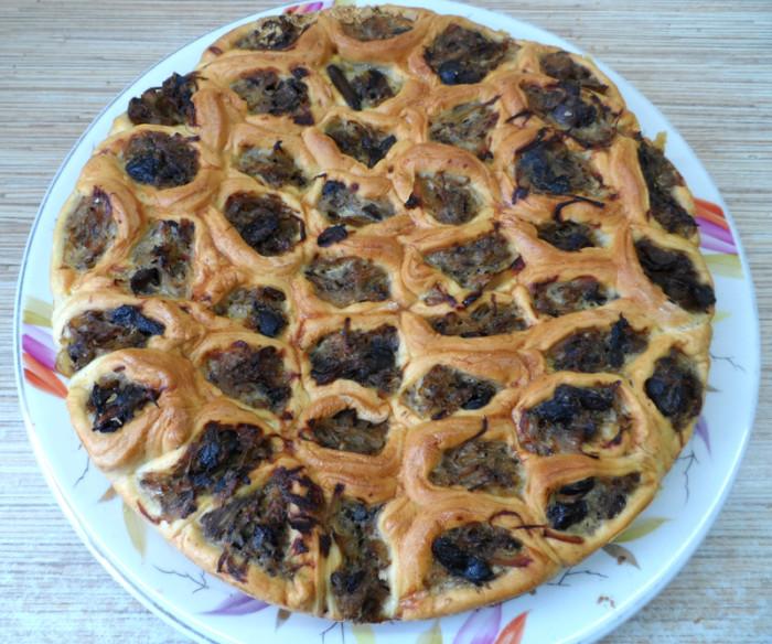 Закусочный пирог Соты