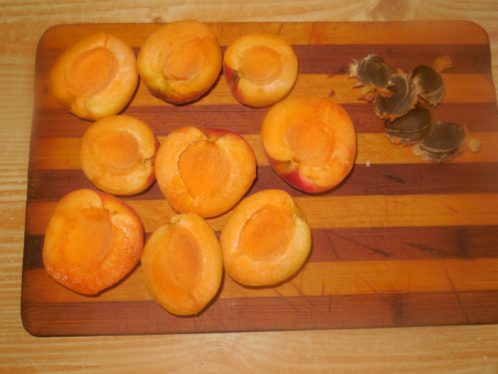 Нежный чизкейк с абрикосами