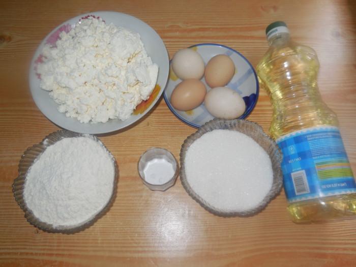 Творожное тесто для жареных пирожков и пончиков