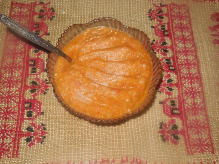Овощная икра из кабачков и баклажанов в мультиварке