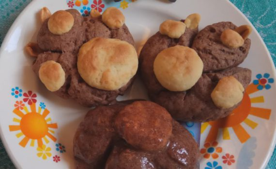 Страшное печенье на Хэллоуин Когтистые лапы