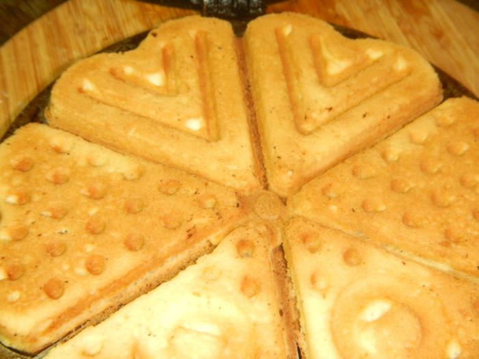 рецепт печенья в форме на газу с фото сердечки
