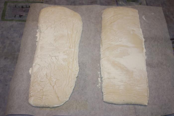 Итальянский хлеб Чиабатта в духовке