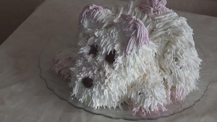 идеи как оформить новогодний стол на год Собаки своими руками