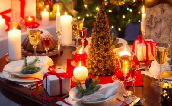 как сервировать новогодний стол 2018